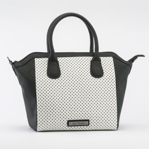 HB-62 Perforated Star Tote White High Res
