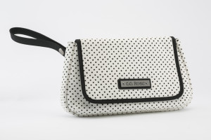 HB-64 Perforated Star Clutch White High Res