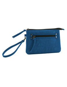 Melrose Mini Clutch Blue High Res